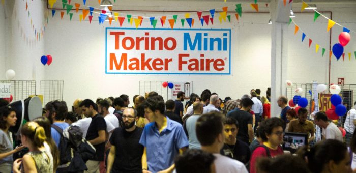 Alla Mini Maker Faire ci saremo anche noi