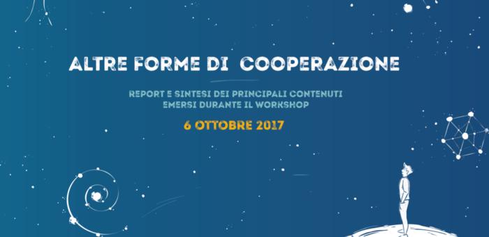 Sharing economy e modelli cooperativi