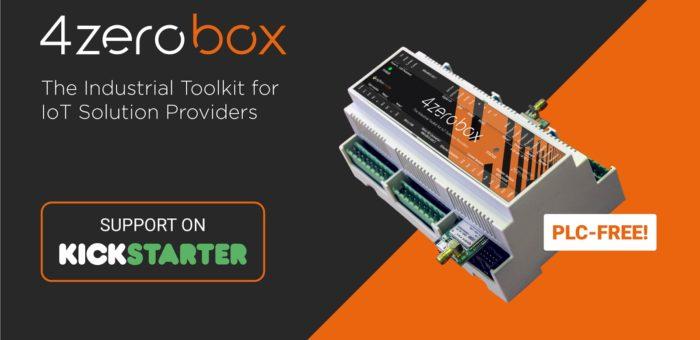 Crowdfunding attivo per 4ZeroBox per l'IoT industriale