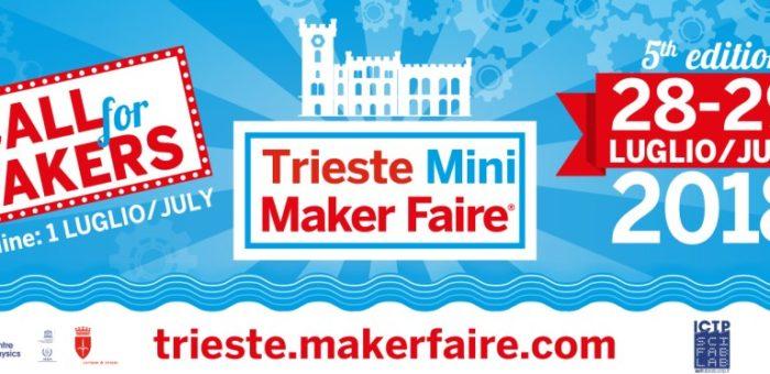 Aperta la call per la Trieste Mini Maker Faire